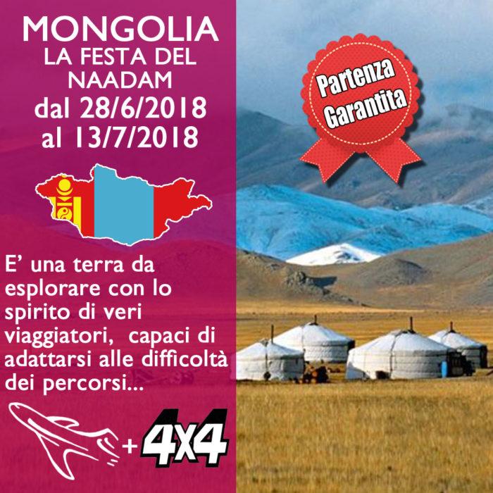 Mongolia in Aereo e 4×4 – Luglio 2018
