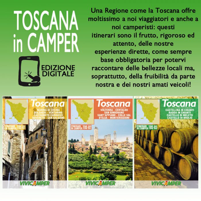Toscana in Camper – Edizione Digitale