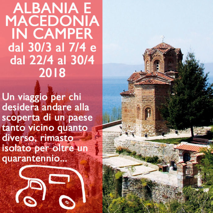 Albania e Macedonia in Camper – Aprile 2018
