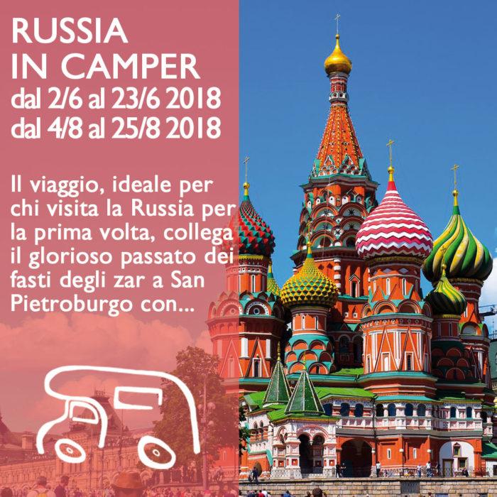 Russia in Camper – Giugno e Agosto 2018