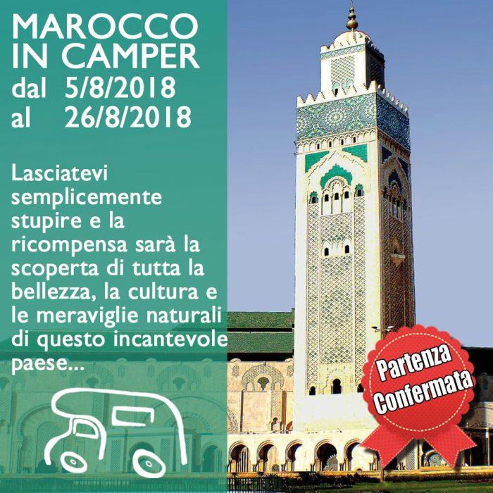 Marocco in Camper – Agosto 2018