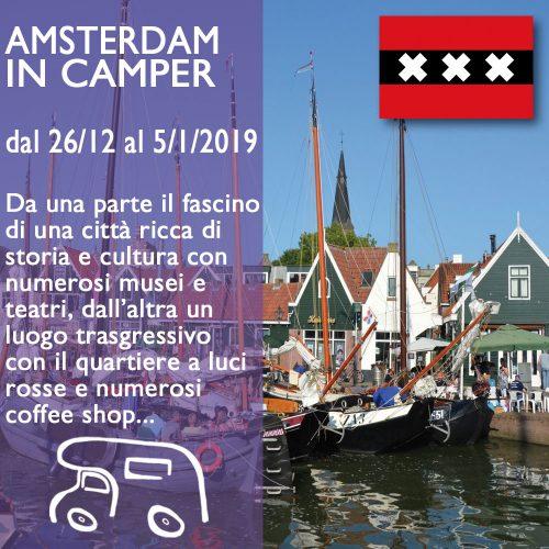 Amsterdam e dintorni in Camper – Capodanno18/19