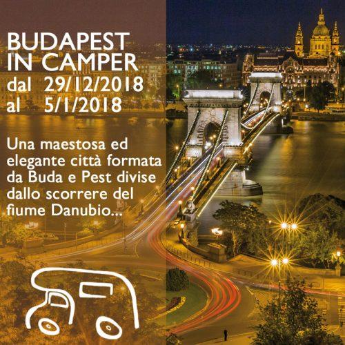 Budapest in Camper – Capodanno 18/19
