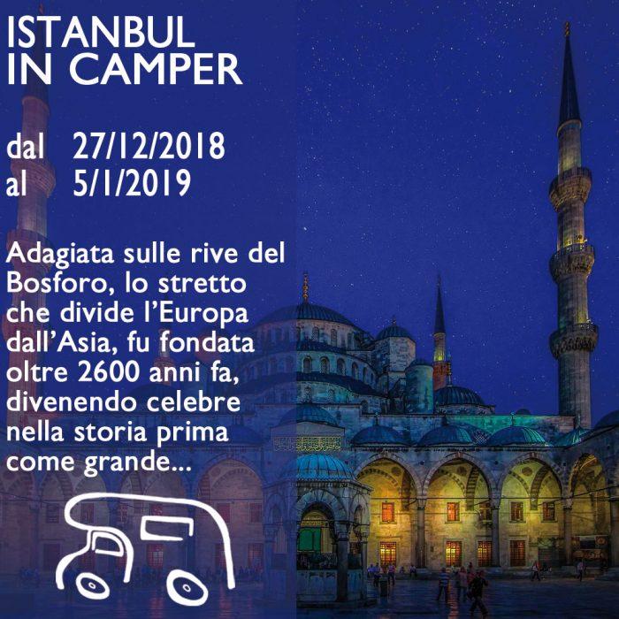 Istanbul in Camper – Capodanno 18/19