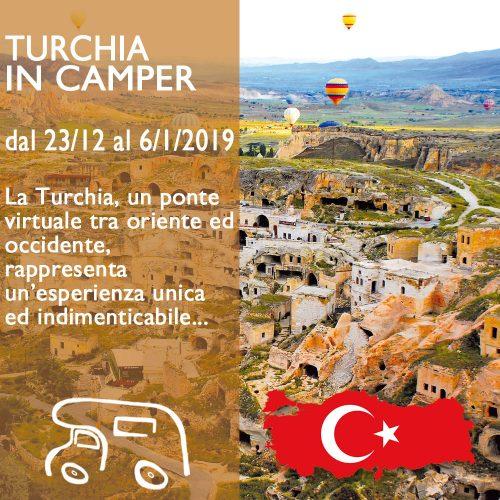 Turchia in Camper – Capodanno 18/19