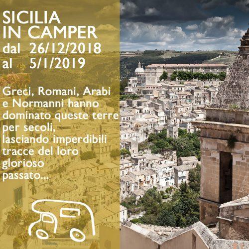 Sicilia in Camper – Capodanno 18/19