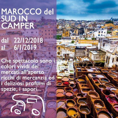 Marocco del Sud in Camper – Capodanno 18/19