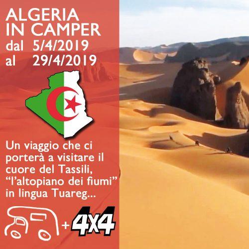 Algeria in Camper – Aprile 2019