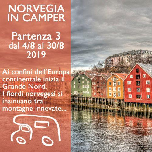 Norvegia in Camper 2 – Agosto 2019