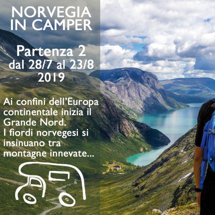 Norvegia in Camper 1 – Agosto 2019