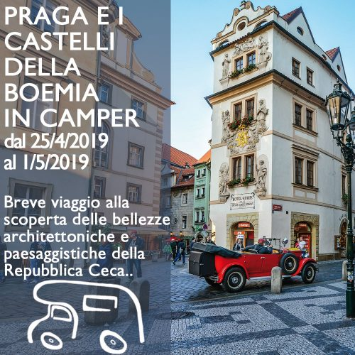Praga e Boemia in Camper – Aprile 2019