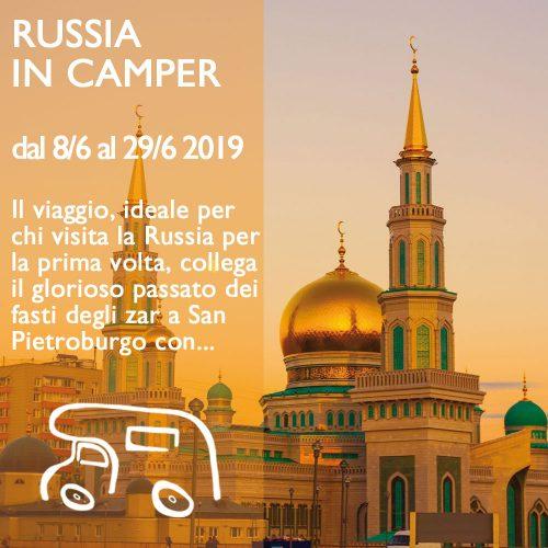 Russia in Camper – Giugno 2018