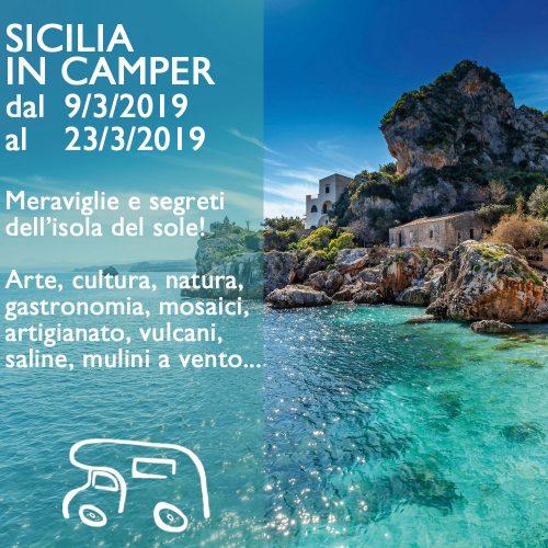 Sicilia in Camper – Marzo 2019
