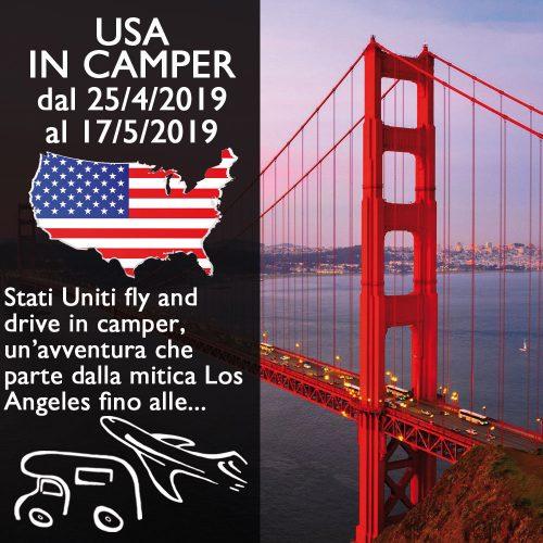 USA in Camper – Aprile/Maggio 2019