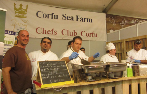 corfù beer fest chef