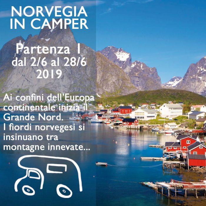 Norvegia in Camper – Giugno 2019