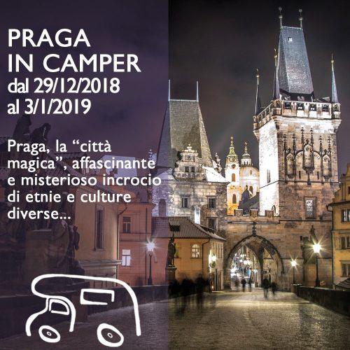 Praga in Camper – Capodanno 18/19