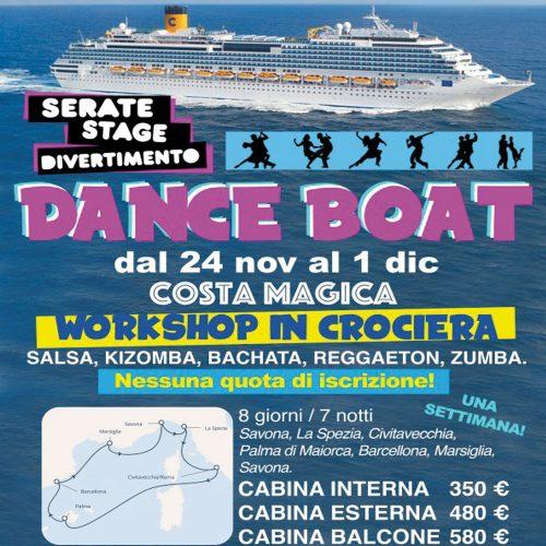 Dance Boat Crociera