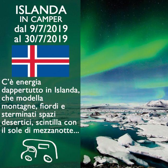 Islanda in Camper – Luglio 2019