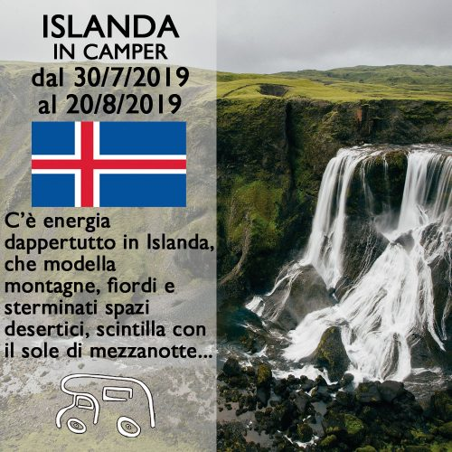Islanda in Camper – Agosto 2019