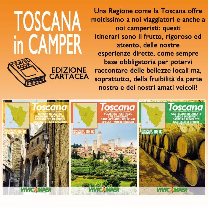 Toscana in Camper – Edizione Cartacea