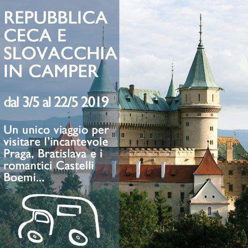 Repubblica Ceca e Slovacchia in Camper – Maggio 2019
