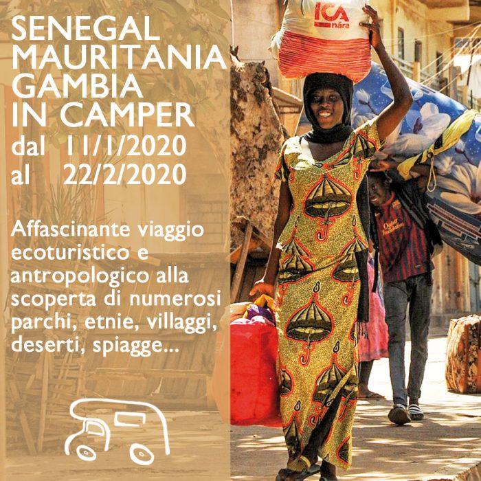 Senegal, Mauritania e Gambia in Camper – Gennaio 2020