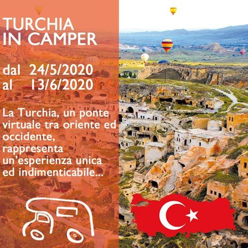 Turchia in Camper – Maggio 2020