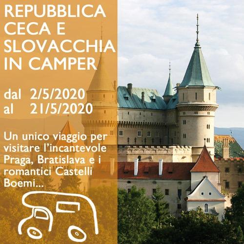Repubblica Ceca e Slovacchia in Camper – Maggio 2020
