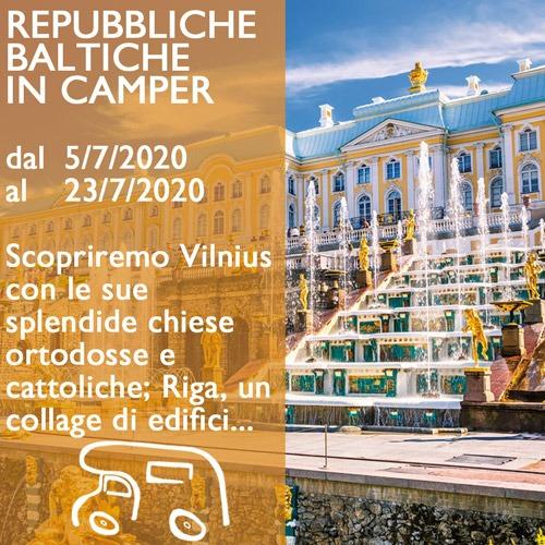 Repubbliche Baltiche in Camper – Luglio 2020