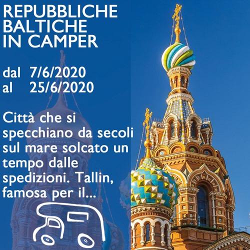 Repubbliche Baltiche in Camper – Giugno 2020