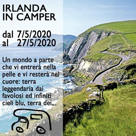 Irlanda in Camper – Maggio 2020