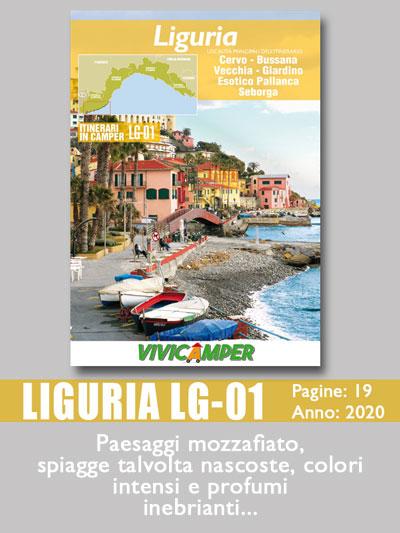 Liguria in Camper LG-01 da Cervo a Seborga