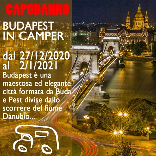 Budapest in Camper – Capodanno 20/21