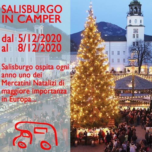 Salisburgo e mercatini di Natale in Camper – Dicembre 2020
