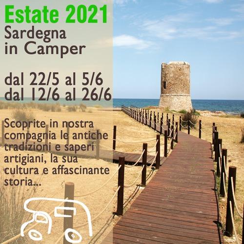 Sardegna in Camper – Estate 2021