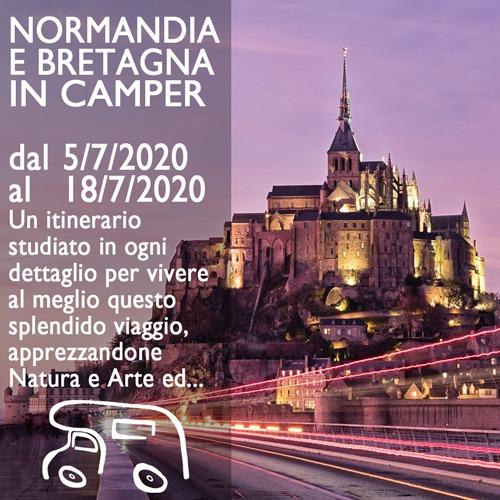 Normandia e Bretagna in Camper – Luglio 2020
