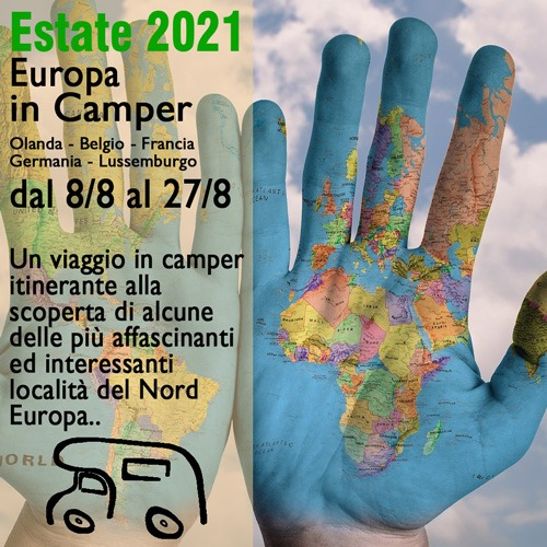Europa in Camper – Viaggio Estate 2021