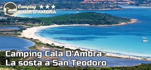 Camping Cala D'Ambra – La sosta a San Teodoro
