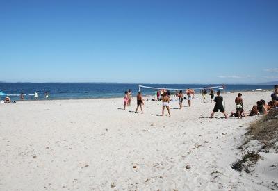 camping s'ena arrubia spiaggia