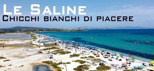 Spiaggia Le Saline: acqua cristallina e chicchi bianchi!